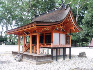 荒田神社本殿