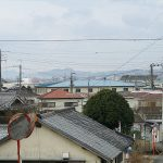 The view place of the Mt. Seyama and Mt. Imoyama