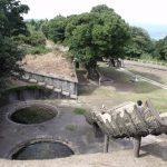 Ruins of a coast-battery in Takurazaki