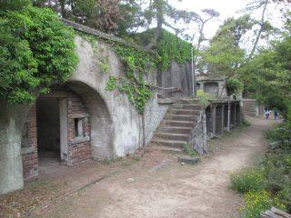 友ヶ島第5砲台跡